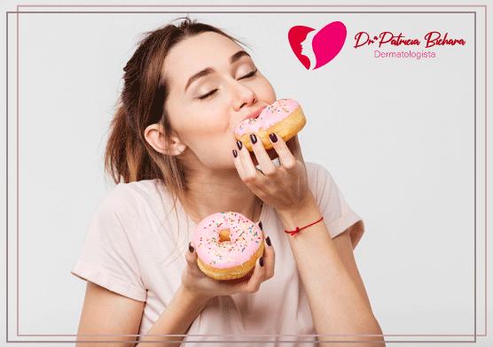 Consumo de açúcar e o Envelhecimento da Pele