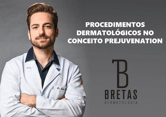 Procedimentos dermatológicos no conceito Prejuvenation
