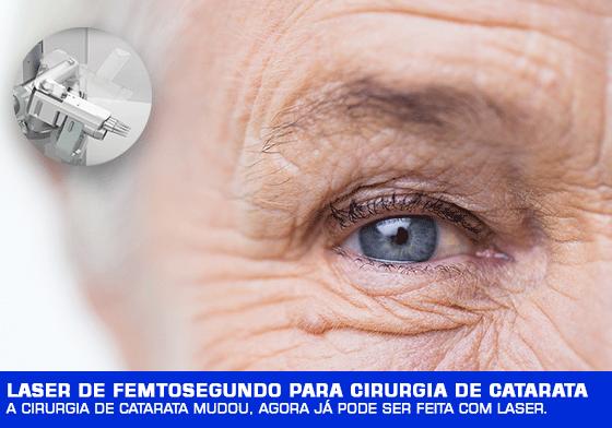 Laser de Femtosegundo para cirurgia de Catarata