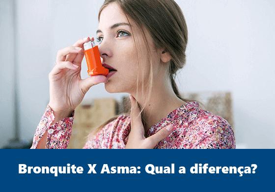 Bronquite X Asma: Qual a diferença?