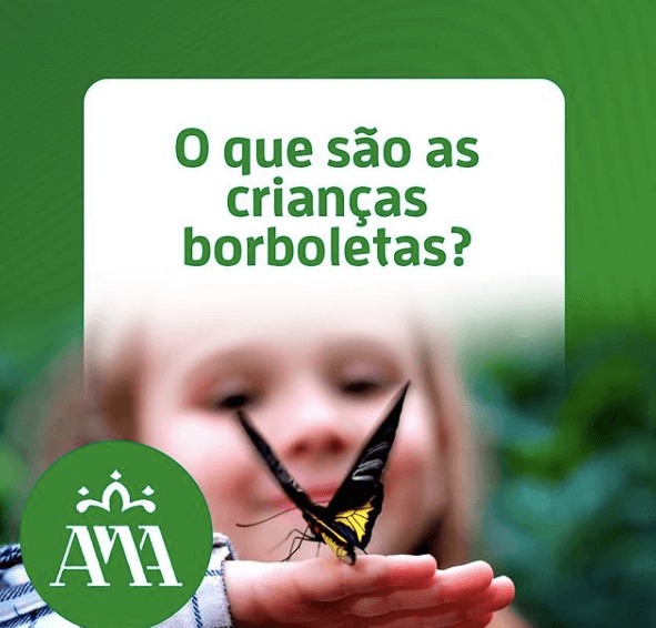 O que são as crianças borboletas?